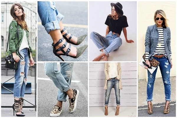 Bí quyết phối đồ với quần jeans theo dáng từng người hợp thời trang