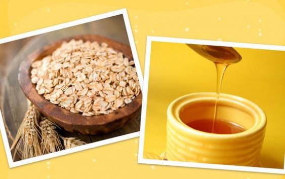 Mặt nạ mật ong cùng bột yến mạch giúp chăm sóc da
