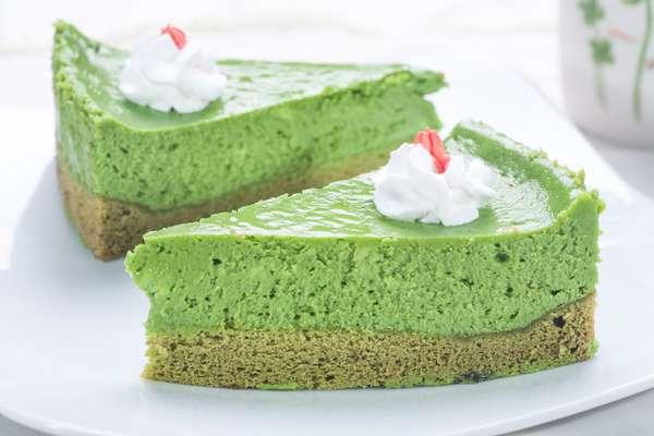 Cách làm cheesecake trà xanh thơm ngon