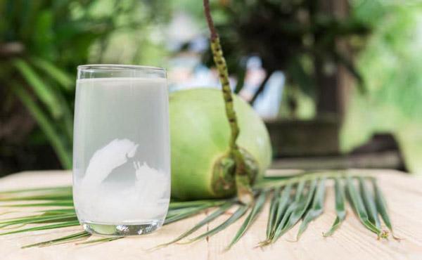 Nước dừa - đồ uống cho bà bầu tinh khiết nhất