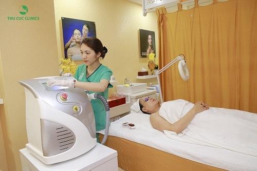 Quy trình trị nám tàn nhang tại bệnh viện Thu Cúc